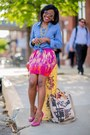 Aviator-aldo-sunglasses-hot-pink-peep-toe-theory-heels-hot-pink-h-m-skirt