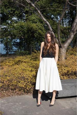 asos skirt - t by alexander wang shirt - spiked heels Christian Louboutin heels