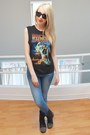 Black-studded-boots-steve-madden-shoes-light-blue-gap-jegging-gap-jeans