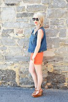 orange cuffed short Vince Camuto shorts - tawny Aldo Shoes shoes