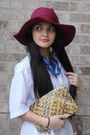 Peeptoes-limelight-shoes-icing-hat-woven-clutch-rachel-roy-purse