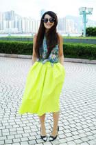 Choies skirt - HM Conscious shirt