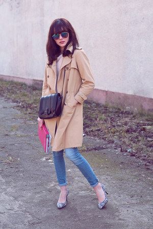 H&M jeans - Zara bag - Bershka pumps