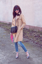 H&M jeans - Zara bag - Bershka pumps