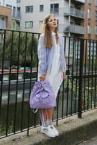THE WHITEPEPPER bag - THE WHITEPEPPER dress - THE WHITEPEPPER flats