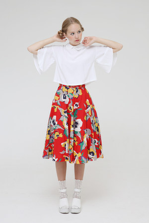 THE WHITEPEPPER top - THE WHITEPEPPER socks - THE WHITEPEPPER skirt