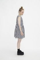 smock dress THE WHITEPEPPER dress - platform THE WHITEPEPPER sneakers