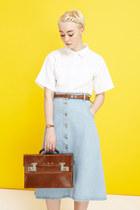 THE WHITEPEPPER shirt - THE WHITEPEPPER skirt
