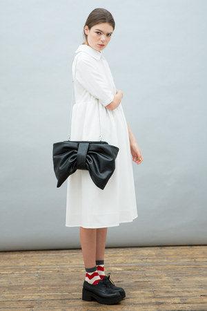black THE WHITEPEPPER shoes - ivory THE WHITEPEPPER dress