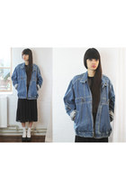 sky blue denim idaho THE WHITEPEPPER jacket