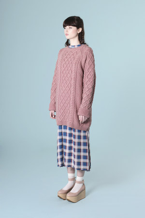 bubble gum THE WHITEPEPPER jumper - light pink THE WHITEPEPPER shoes