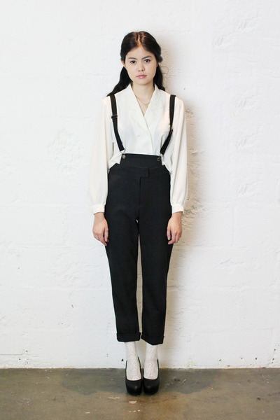 vintage shirt - cropped THE WHITEPEPPER pants