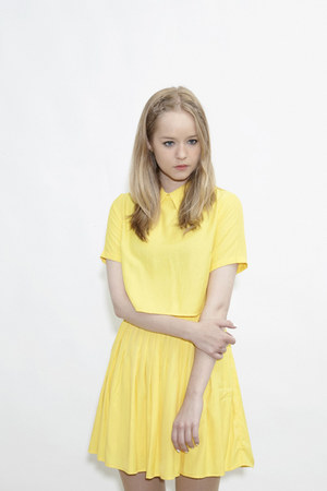 THE WHITEPEPPER skirt - crop yellow THE WHITEPEPPER shirt