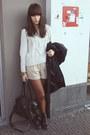 Navy-primark-coat-off-white-bershka-sweater-burnt-orange-old-tights-black-
