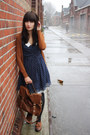 Tawny-topshop-shoes-navy-polkadot-miss-patina-dress-tawny-primark-bag-tawn