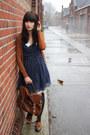 Tawny-topshop-shoes-navy-polkadot-miss-patina-dress-tawny-primark-bag-tawn