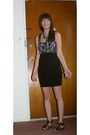 Black-forever21-dress-black-target-shoes-urban-outfitters-accessories-gree