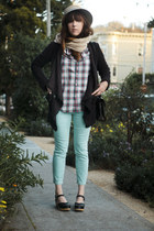 free people jacket - clogs Swedish Hasbeens shoes