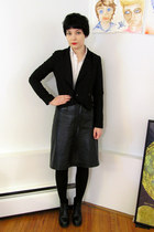 H&M blazer - Slow and Steady Wins the Race blouse - Filippa K skirt - Pegabo boo