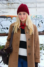 Ankle-boots-ebay-shoes-vintage-coat-beanie-h-m-hat-asos-bag