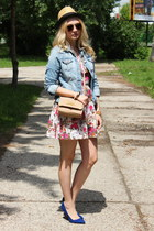 Zara shoes - Forever21 dress - H&M jacket - asos purse
