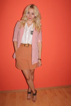 H&M blazer - Primark shoes - New Yorker shirt - vintage shorts