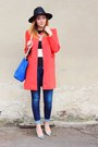 Dresslilly-coat-zara-jeans-oasapcom-hat-zara-bag-zara-top