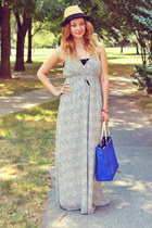 Zara bag - asos dress - Zara sandals