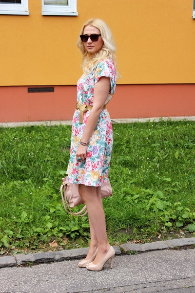 vintage dress - Primark shoes - Ebay bag