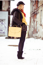 black nowIStyle coat - gold nowIStyle top