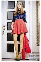 navy wwwtailor4lesscom skirt