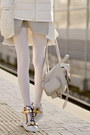 Silver-frontrowshop-dress-white-befree-jacket-silver-chicnova-bag