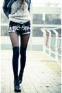 Black-sheinside-shorts-ivory-sheinside-swimwear-black-persunmall-bracelet