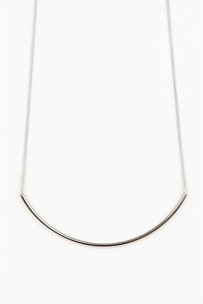 silver Tobi necklace