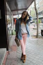BLANCO jeans - Uterqe boots - H&M shirt - Zara bag - Zara t-shirt