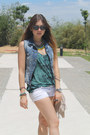 Hollister-shorts-zara-top