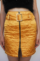 Can't Touch This Vintage Quilted High-Waist Mini Skirt -- Size 26