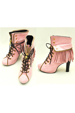 pink GOLDSinfinity shoes