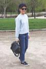 Navy-mih-jeans-jeans-navy-petit-bateau-jacket-navy-louis-vuitton-bag
