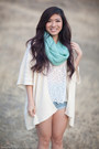 Knitted-forever-21-scarf-nautica-flats-sheer-h-m-top