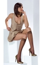 Brown-dress-brown-stockings-shoes