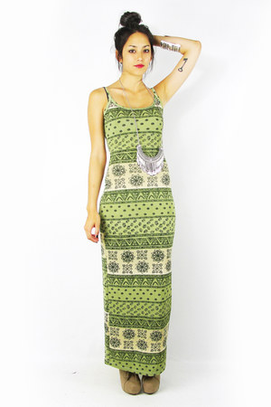 olive green Trashy Vintage dress