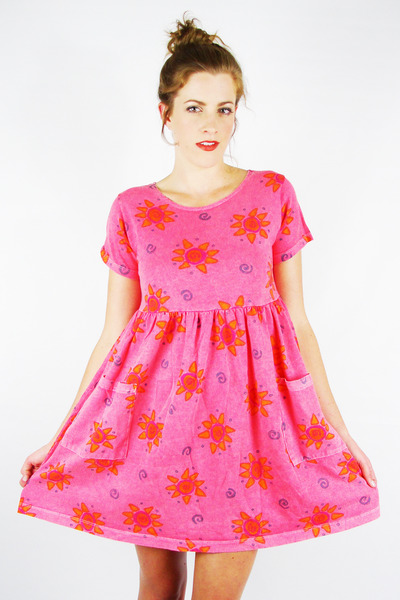 hot pink Trashy Vintage dress