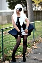 black diy LADY G dress