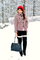 houndstooth Mango coat