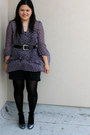 Black-forever-21-intimate-deep-purple-american-rag-blouse-black-charlotte-ru