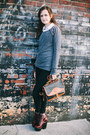 Black-skinny-bdg-jeans-charcoal-gray-studded-others-follow-sweater