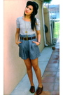 Gray-forever-21-shirt-gray-forever-21-shorts-brown-steve-madden-black-urba