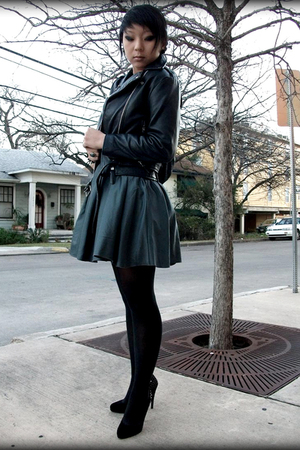 vintage jacket - modcloth skirt - shoes - Amrita Singh accessories - f21 necklac