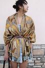 Gold-street-vendor-scarf-urban-outfitter-dress